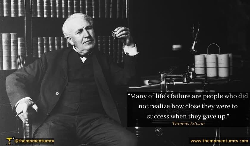 Quotes from Thomas Edison